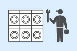 内洞洗浄のメンテナンスのイメージ図