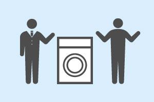洗濯・乾燥設備のご提案のイメージ図